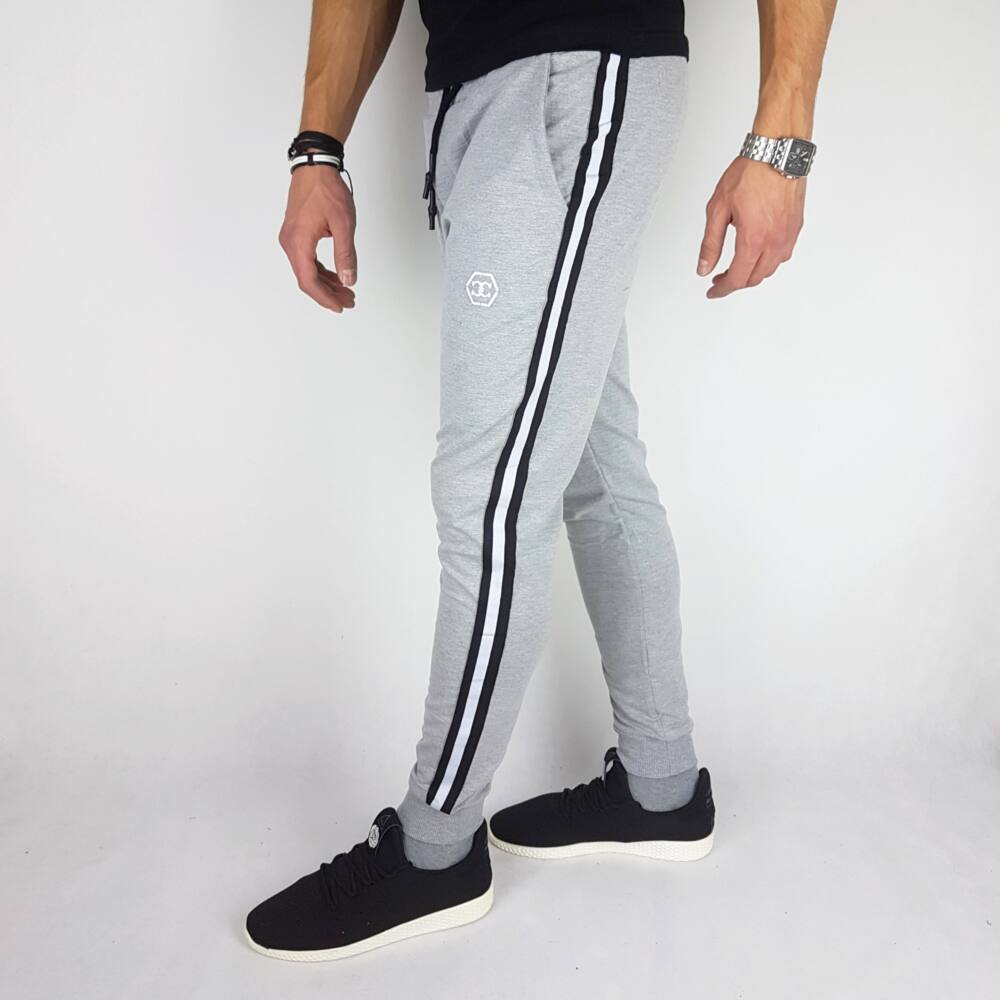 BLAINE GRAY - Férfi melegítő nadrág - Himzett