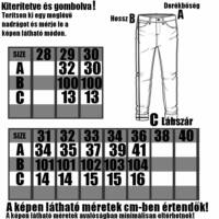 CARBON FLINT - Férfi farmer nadrág - Slimfit szabás - Strech anyag