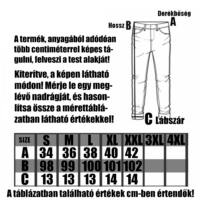 BLAINE BLACK  - Férfi melegítő nadrág - Himzett