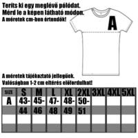 SUBTLE BLACK - Férfi póló - Slimfit szabás